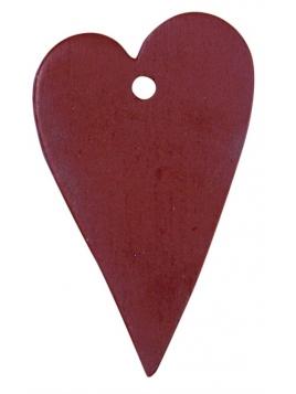 Herzanhänger von Ib Laursen in Rot