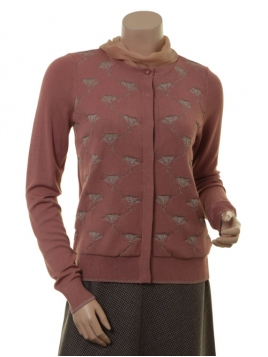 Strickjacke 1-8135-1 von Noa Noa in art rosa