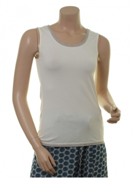 Shirt Alva 18-052-100 von Sorgenfri Sylt in Ivory