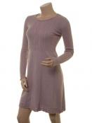 Kaschmir-Knitwear-Kleid Osrun 18-080-404 von Sorgenfri Sylt in Powder