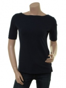 Kurzarm T-Shirt Deep Dark Ocean von Endless Moda Denmark