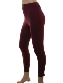 Lange Leggings von Du Milde in Darkred