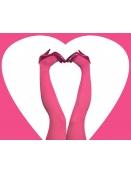 Strumpfhose Stromper Pink-Candy von Du Milde in pink