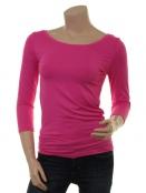 Langarm T-Shirt Trinis von Du Milde in pink