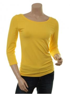 Langarm T-Shirt Trinis von Du Milde in yellow