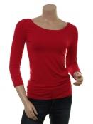 Langarm T-Shirt Trinis von Du Milde in red