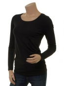 Langarm T-Shirt 1-5270-12 von Noa Noa in black