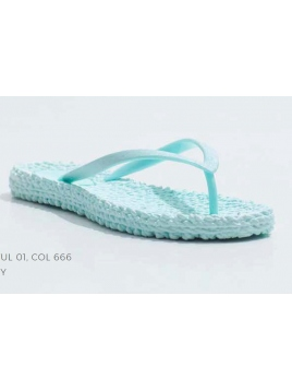 CHEERFUL, FlipFlops, Jade Mint 666 von Ilse Jacobsen