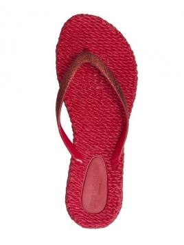 CHEERFUL, FlipFlops, Deep Red 303 von Ilse Jacobsen