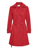 Trenchcoat Cactus von InWear in Racing Red