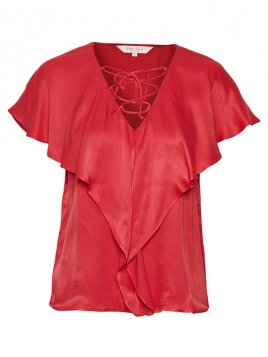 Blouse Kelsey von Part-Two in Tomato Puree
