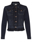 Jeans-Jacke Kevyn von Part-Two in Dark Vintage Denim