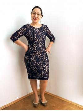 Kleid Patrice von InWear in Midnight