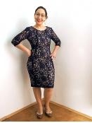 Kleid Patrice 30100259 von InWear in Midnight