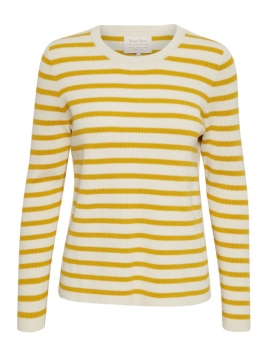 Pullover Konja 30303304 von Part-Two in Yellow