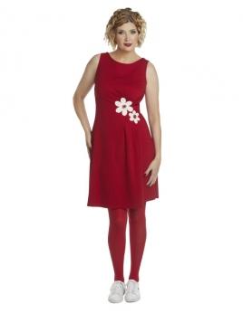 Kleid DU-Marvelous-Poula-red von Du Milde in Rot