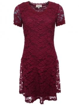 Kleid Elina 28-011-500 von Sorgenfri Sylt in burgundy