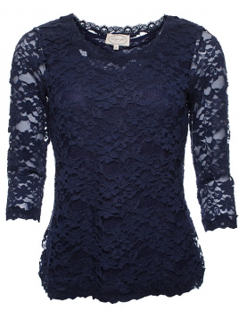 Blouse Mirja 28-012-320 von Sorgenfri Sylt in midnight