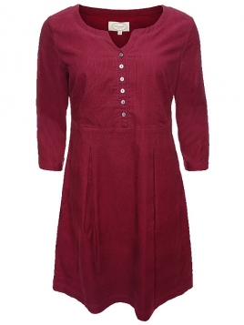 Kleid Franka 28-014-500 von Sorgenfri Sylt in burgundy