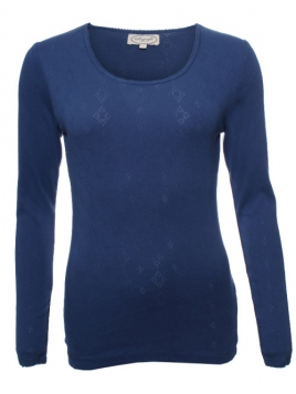 Langarm T-Shirt Malin 28-046-280 von Sorgenfri Sylt in ink
