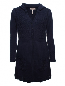 Strickjacke Neele 28-073-320 von Sorgenfri Sylt in midnight