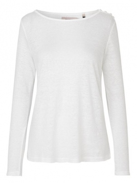 Langarm T-Shirt 1-8983-1 von Noa Noa in cloud dancer