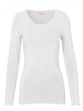 Langarm T-Shirt 1-6232-9 von Noa Noa in cloud dancer