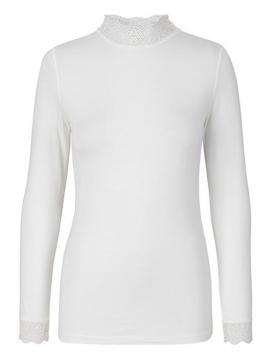Langarm T-Shirt 1-8569-2 von Noa Noa in cloud dancer