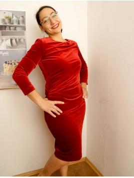 Kleid Nisas von InWear in TrueRed