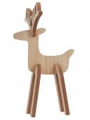 Holzfigur (Rentier) von Ib Laursen