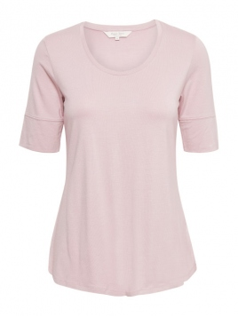 Kurzarm T-Shirt Kasa von Part-Two in Lilac