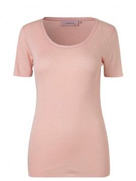 Kurzarm T-Shirt 1-6287-10 von Noa Noa in rose dust