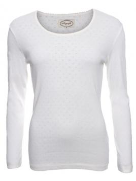 Langarm-Shirt Malin von Sorgenfri Sylt in ivory