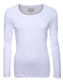 Langarm-Shirt Malin von Sorgenfri Sylt in white