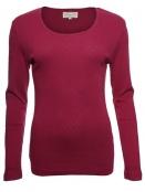 Langarm-Shirt Malin von Sorgenfri Sylt in cherry