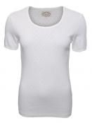 Baumwoll-Shirt Maren von Sorgenfri Sylt in Ivory