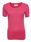 Baumwoll-Shirt Maren von Sorgenfri Sylt in Lollipop