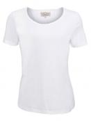 Kurzarm T-Shirt Palma von Sorgenfri Sylt in ivory