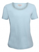 Kurzarm T-Shirt Palma von Sorgenfri Sylt in mint
