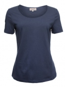 Kurzarm T-Shirt Palma von Sorgenfri Sylt in night
