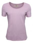 Kurzarm T-Shirt Palma von Sorgenfri Sylt in rose