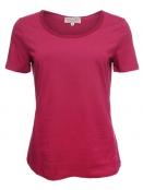 Kurzarm T-Shirt Palma von Sorgenfri Sylt in cherry