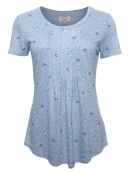 Shirt Rasa von Sorgenfri Sylt in light blue