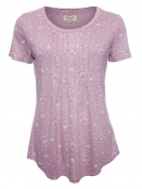 Shirt Rasa von Sorgenfri Sylt in rose