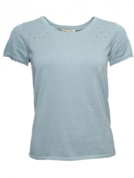 Kurzarm T-Shirt Mona von Sorgenfri Sylt in mint