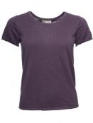 Kurzarm T-Shirt Mona von Sorgenfri Sylt in mauve