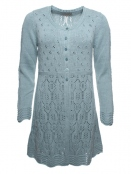 Strickjacke Abelone von Sorgenfri Sylt in mint