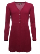 Strickjacke Inka von Sorgenfri Sylt in cherry