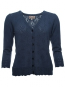 Strickjacke Amy von Sorgenfri Sylt in night
