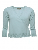 Strickjacke Leni von Sorgenfri Sylt in mint